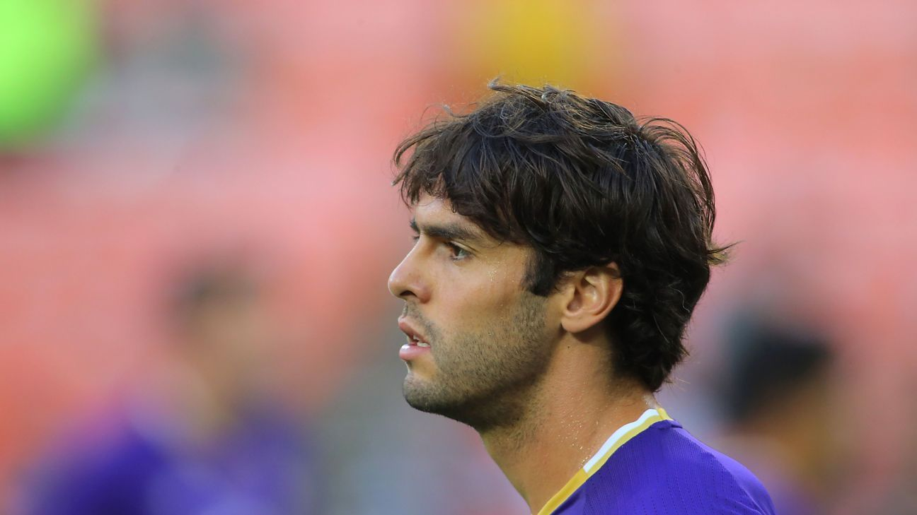 Kaka scored the first goal for Orlando City at their new stadium.