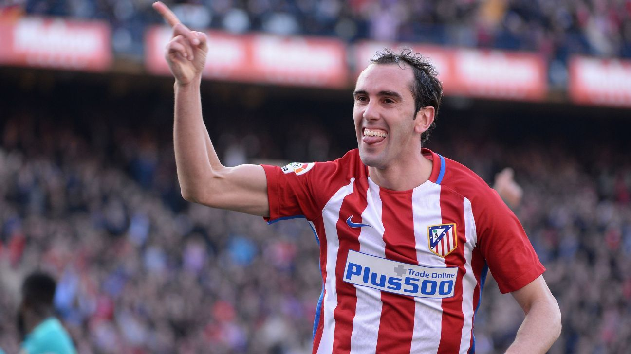 Diego Godin honoured to equal Atletico non Spanish appearance