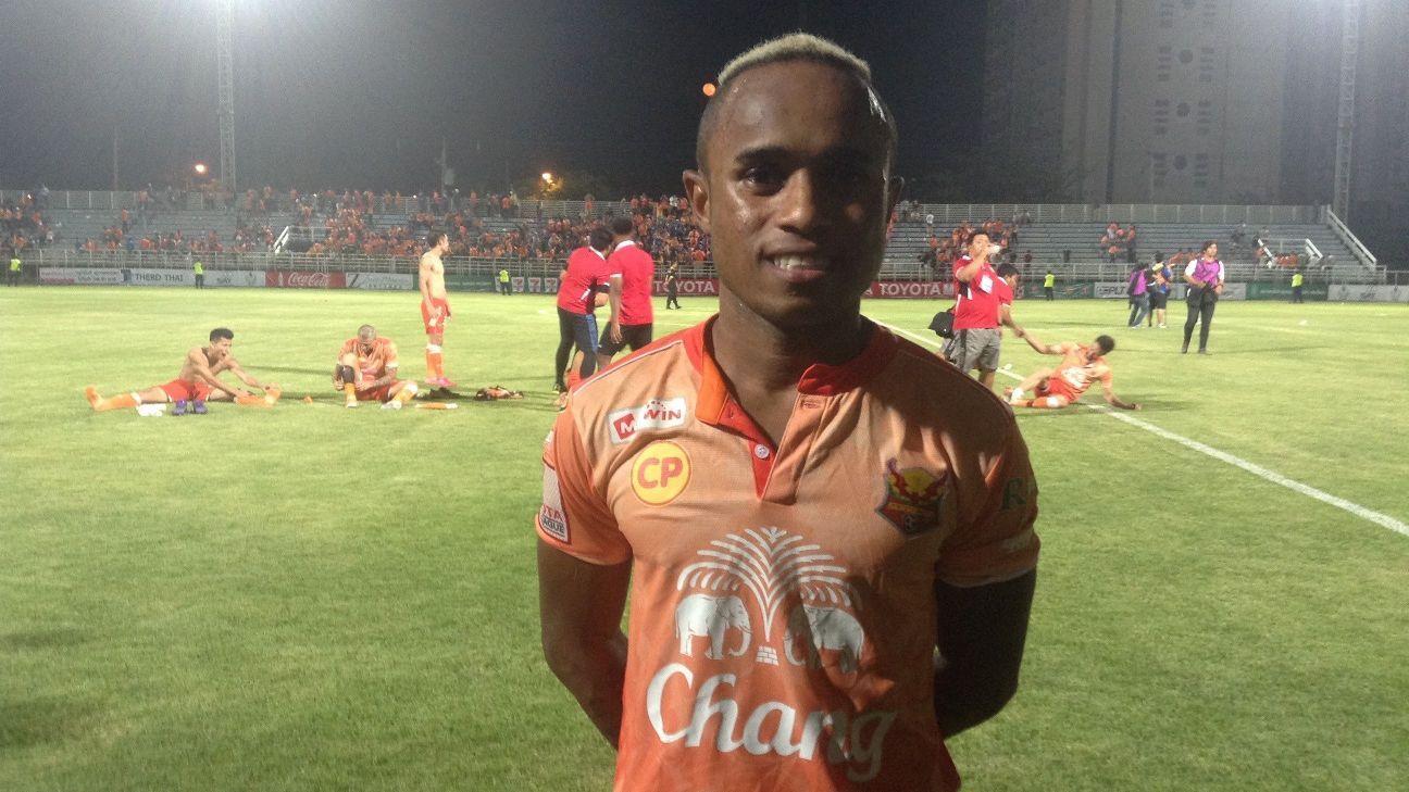 John Baggio of Sukhothai FC