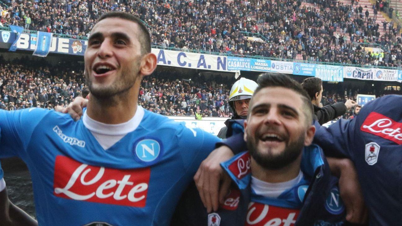 Faouzi Ghoulam & Lorenzo Insigne
