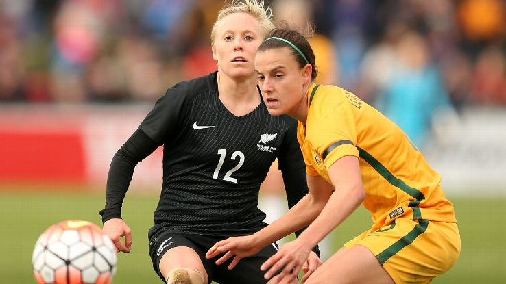 Australia's Chloe Logarzo