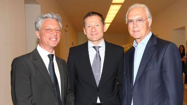 Franco Renzo, Peter Gorlich & Franz Beckenbauer