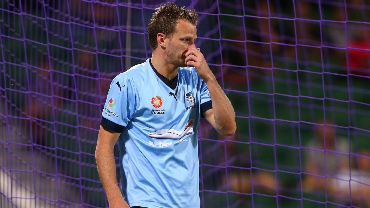 Sydney FC defender Alex Wilkinson