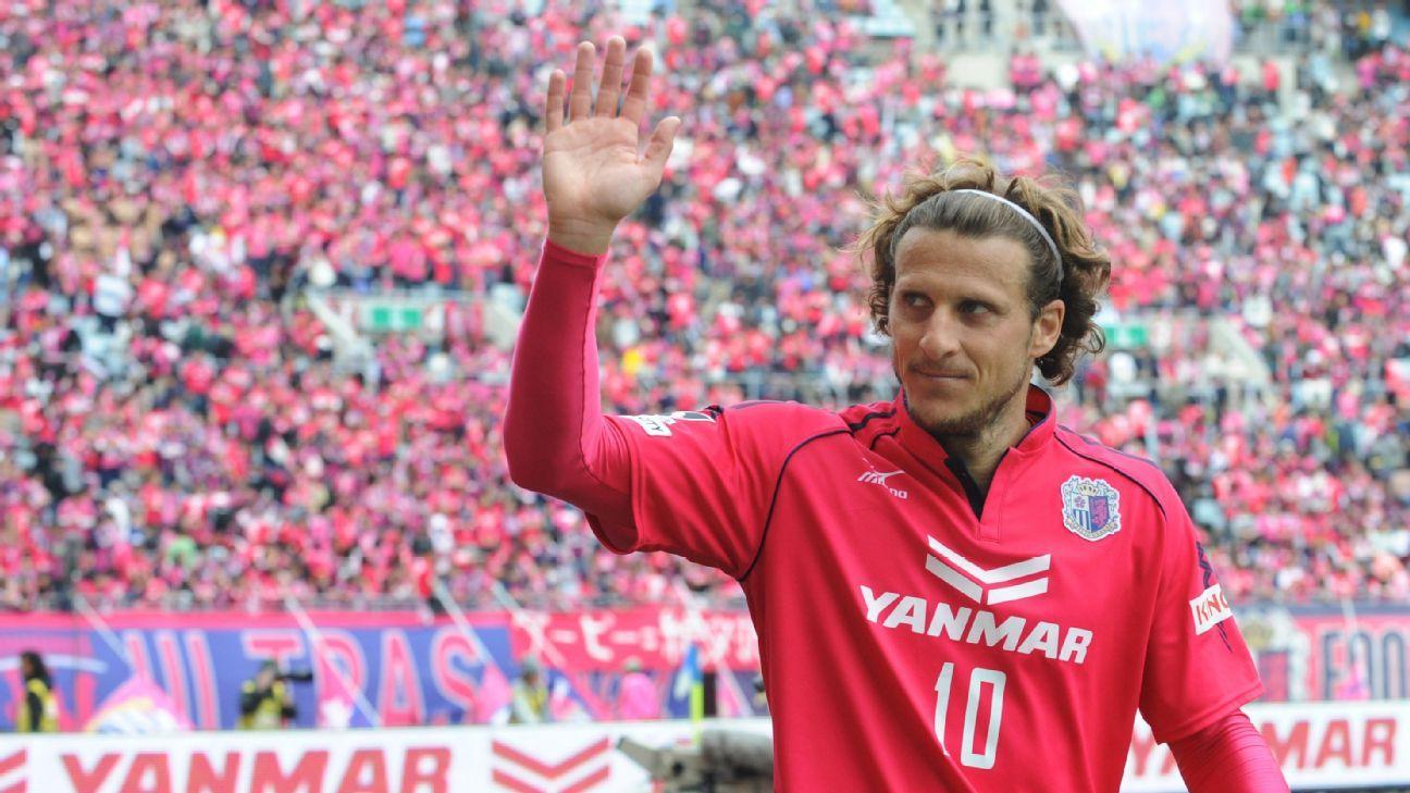 Cerezo Osaka striker Diego Forlan