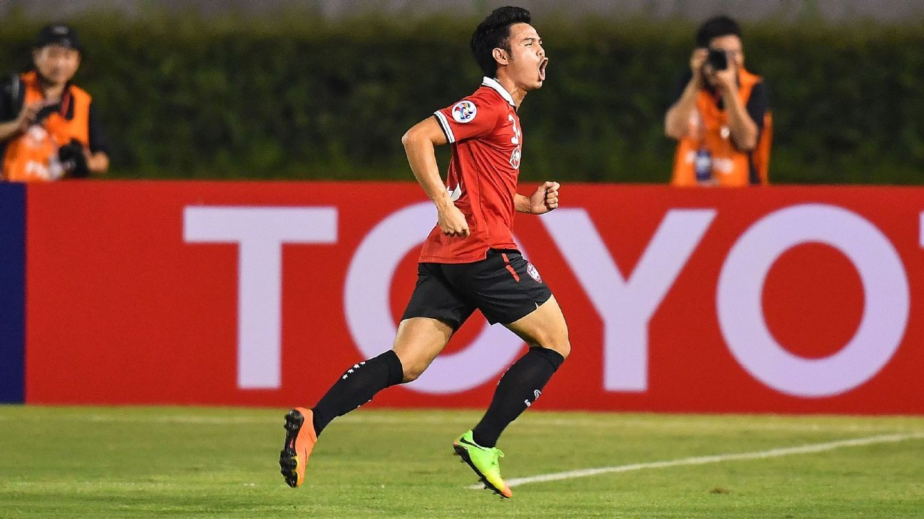 Theerathon of Muangthong United in ACL
