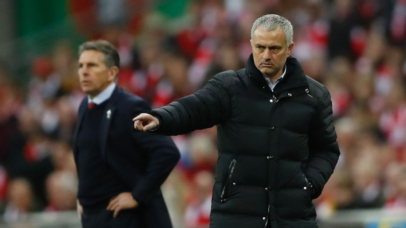Jose Mourinho's Manchester United are attacking in a way his teams haven't before.
