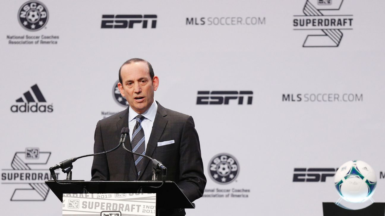 MLS commissioner Don Garber