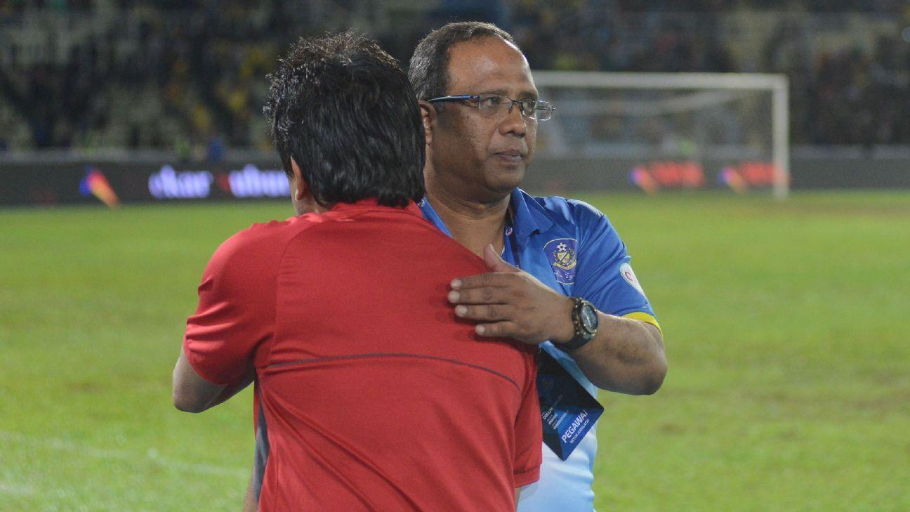Pahang FA coach Dollah Salleh