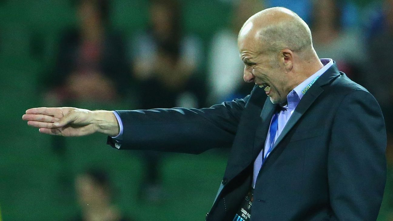 Perth Glory coach Kenny Lowe