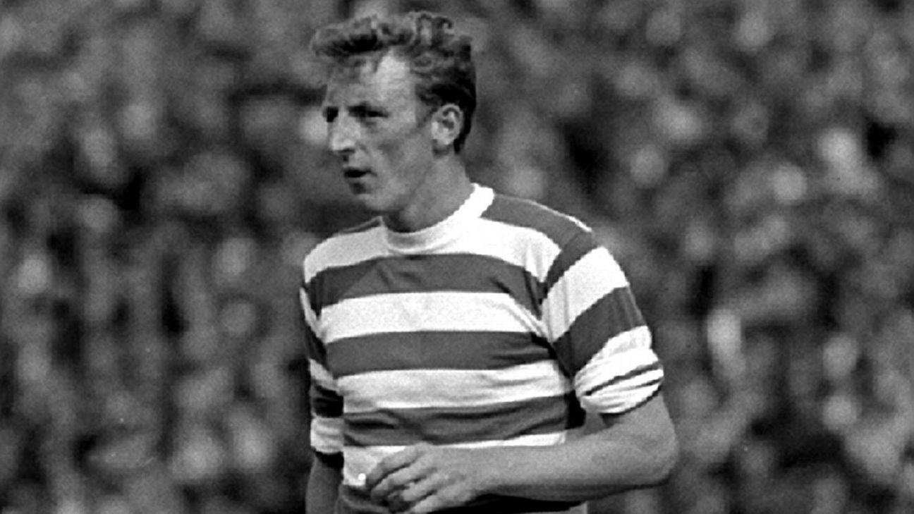 Celtic mourn death of European Cup 'Lisbon Lion' Tommy Gemmell