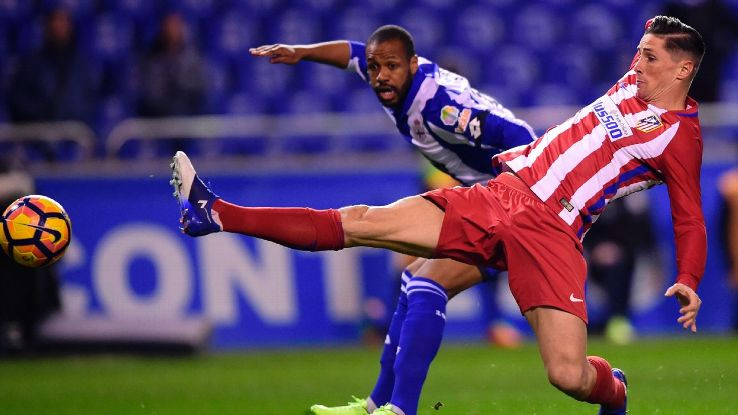 Fernando Torres came on as a substitute about 20 minutes before suffering a serious head injury.