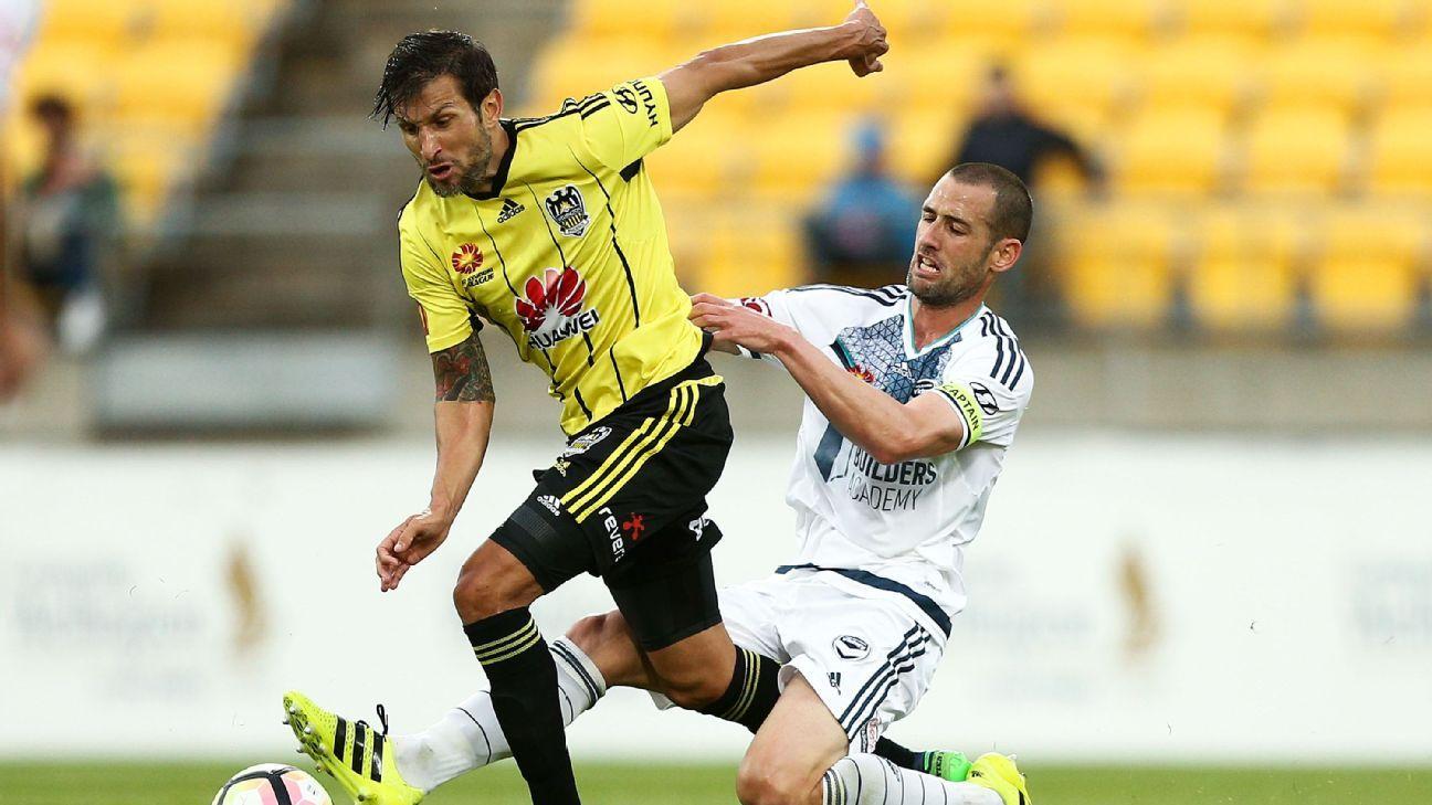 Wellington Phoenix's Vince Lia