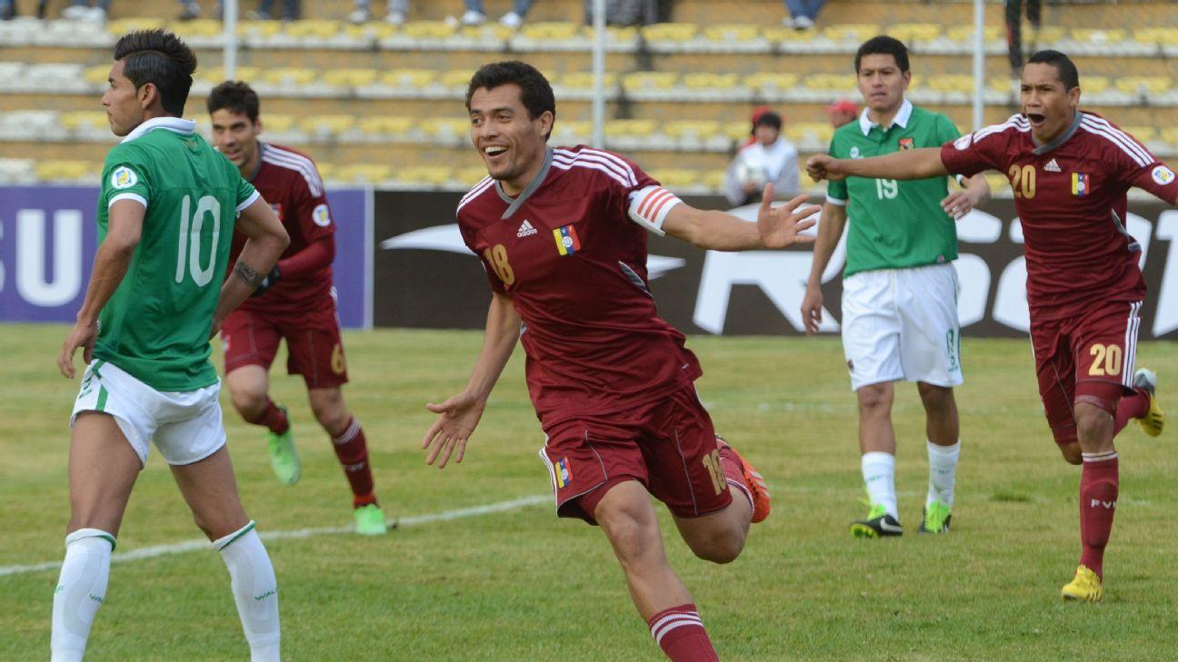 Venezuela striker Juan Arango