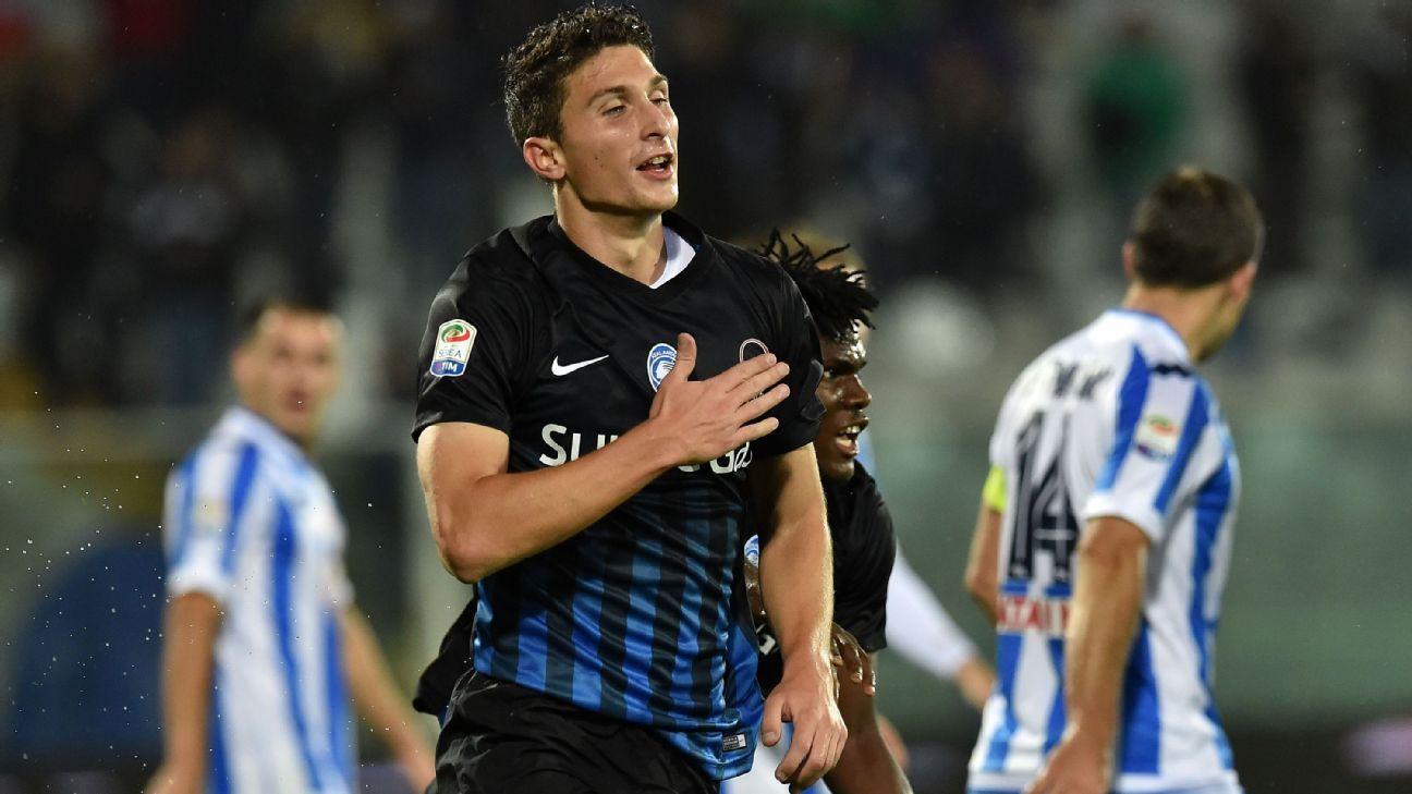Atalanta defender Mattia Caldara