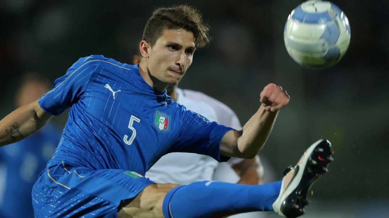 Italy defender Mattia Caldara