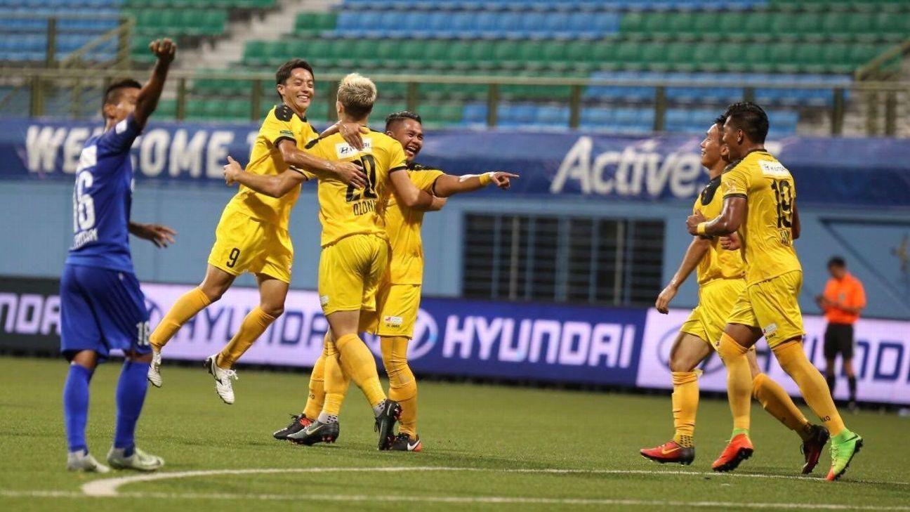 Ivan Dzoni scored the first goal for Tampines Rovers