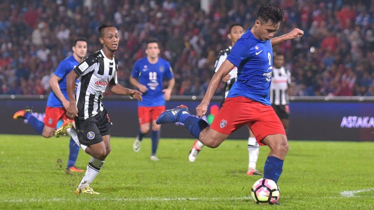 JDT striker Hazwan Bakri