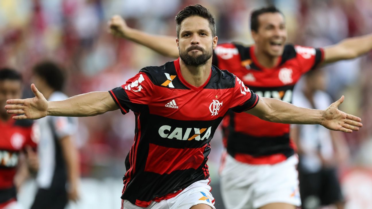 Diego Flamengo celebration
