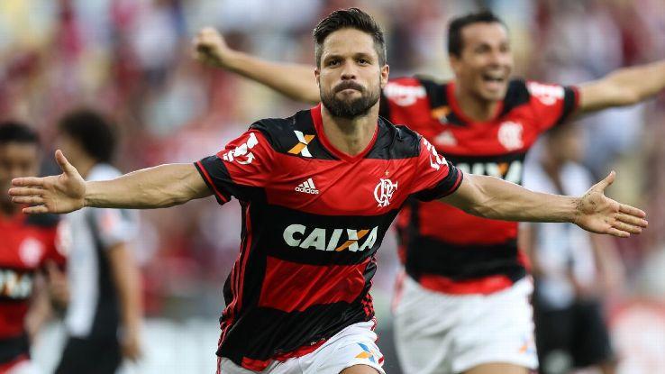 Diego Flamengo celebration