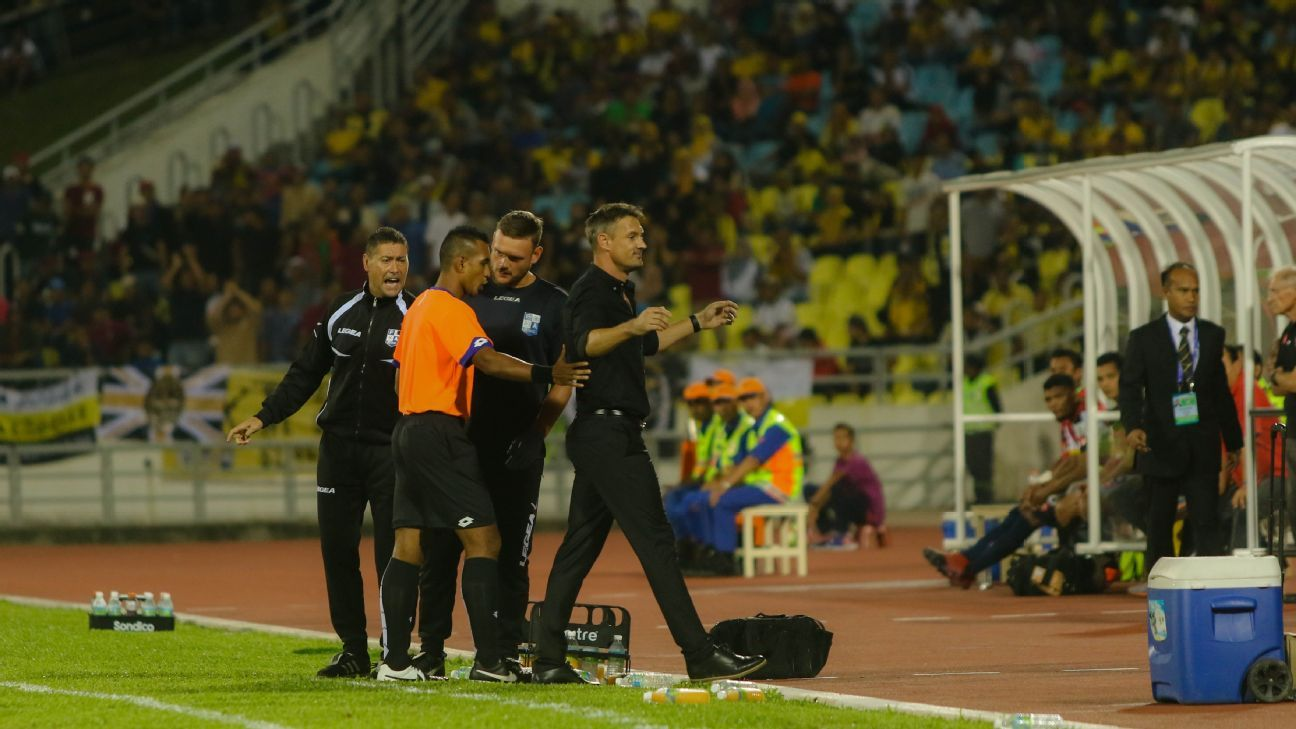 Penang coach Ashley Westwood