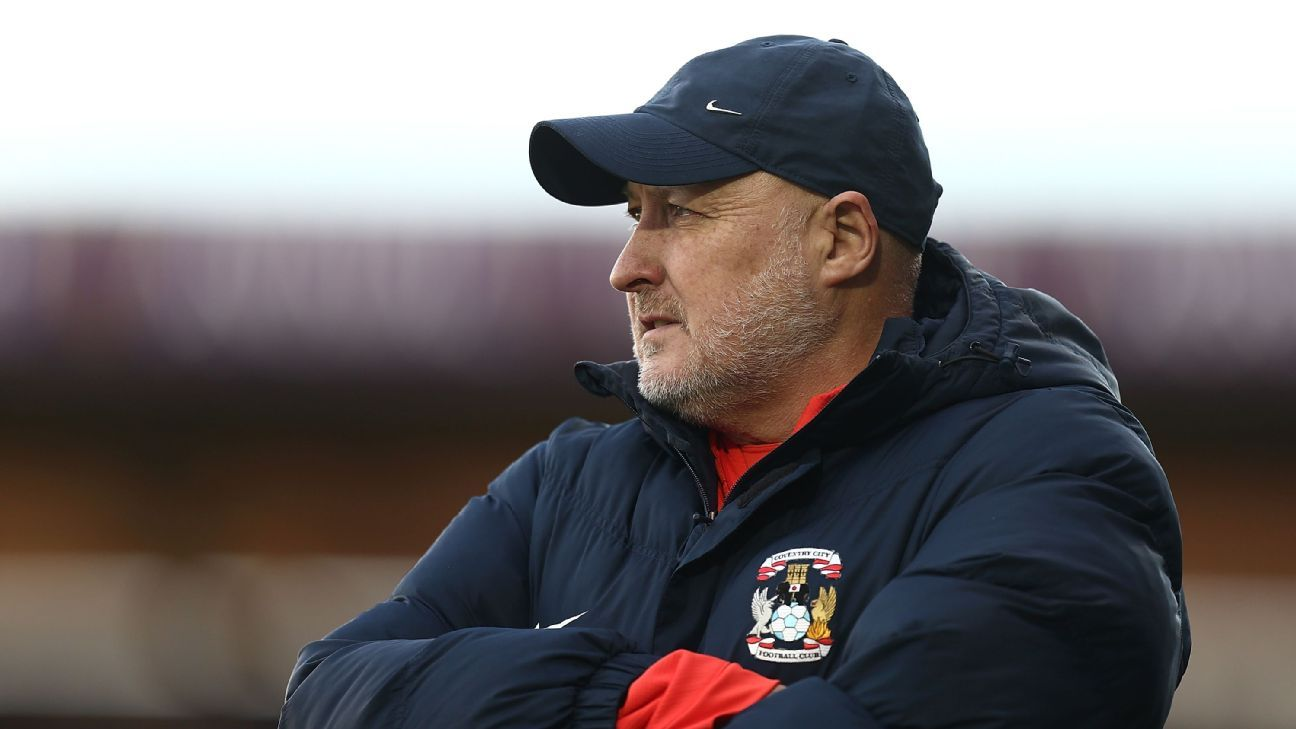 Russell Slade was sacked by Coventry less than three months after his appointment.