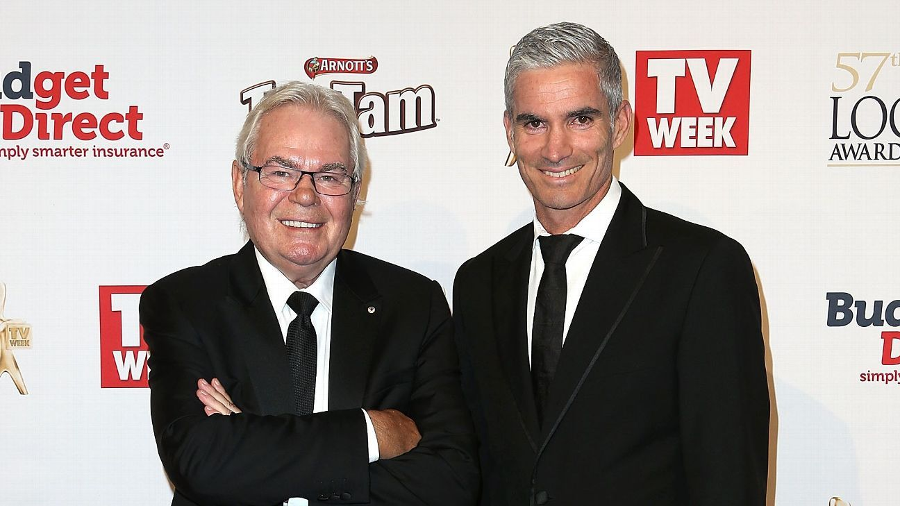Les Murray and Craig Foster