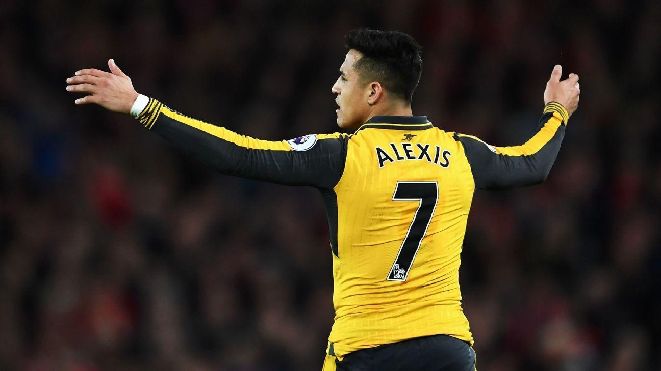 Arsenal striker Alexis Sanchez