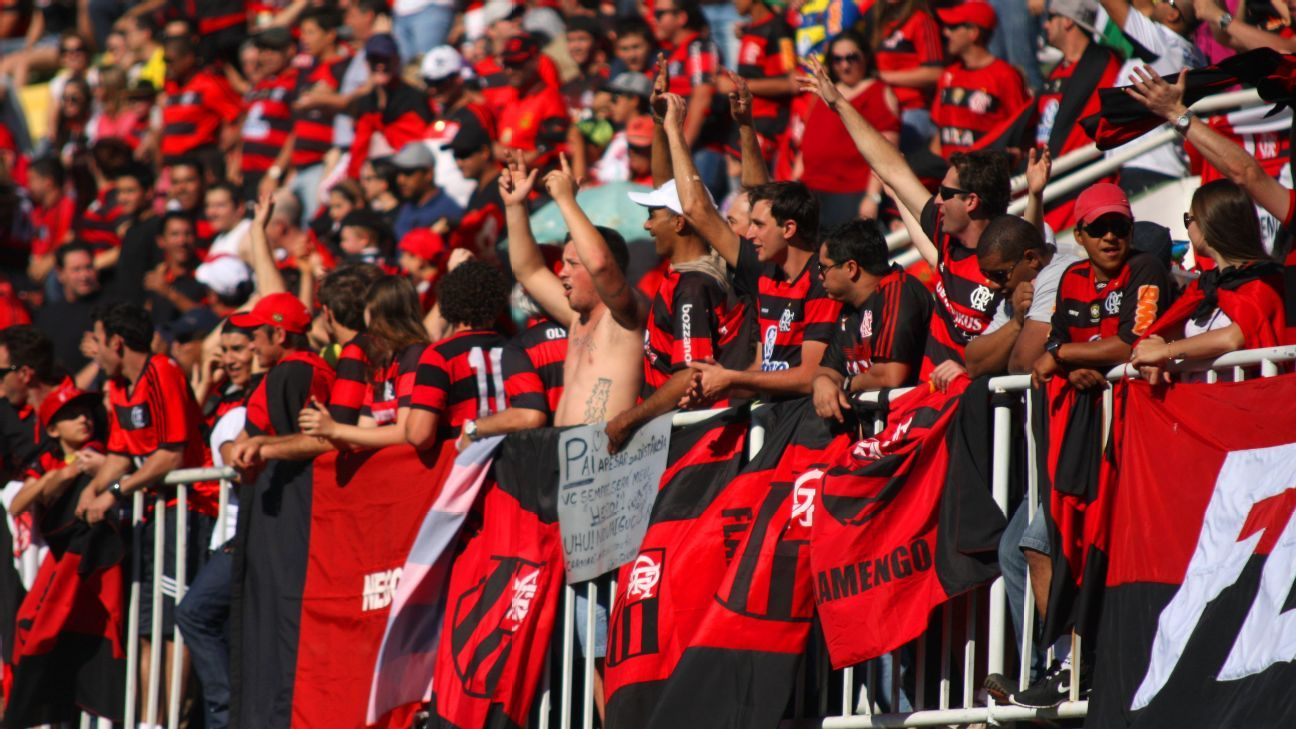 Flamengo supporters