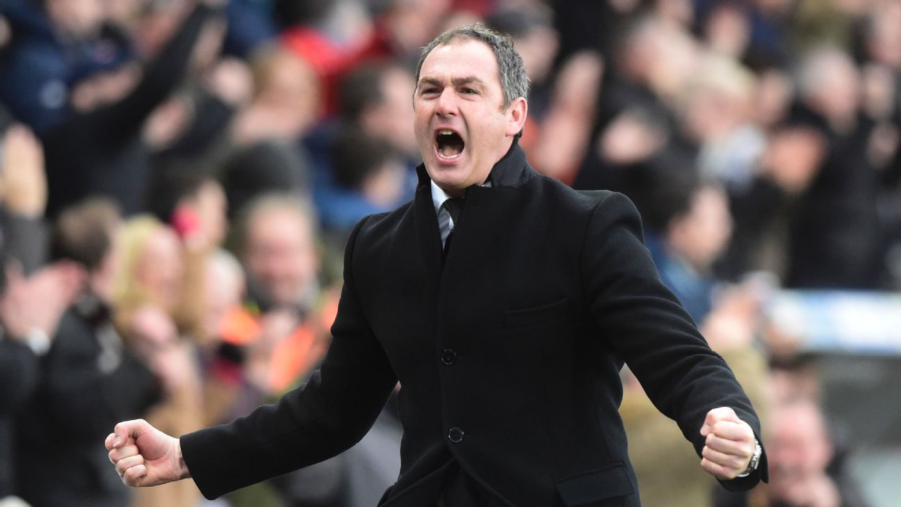 Paul Clement arrived at Swansea and made an immediate impact, helping the club climb out of the bottom three.