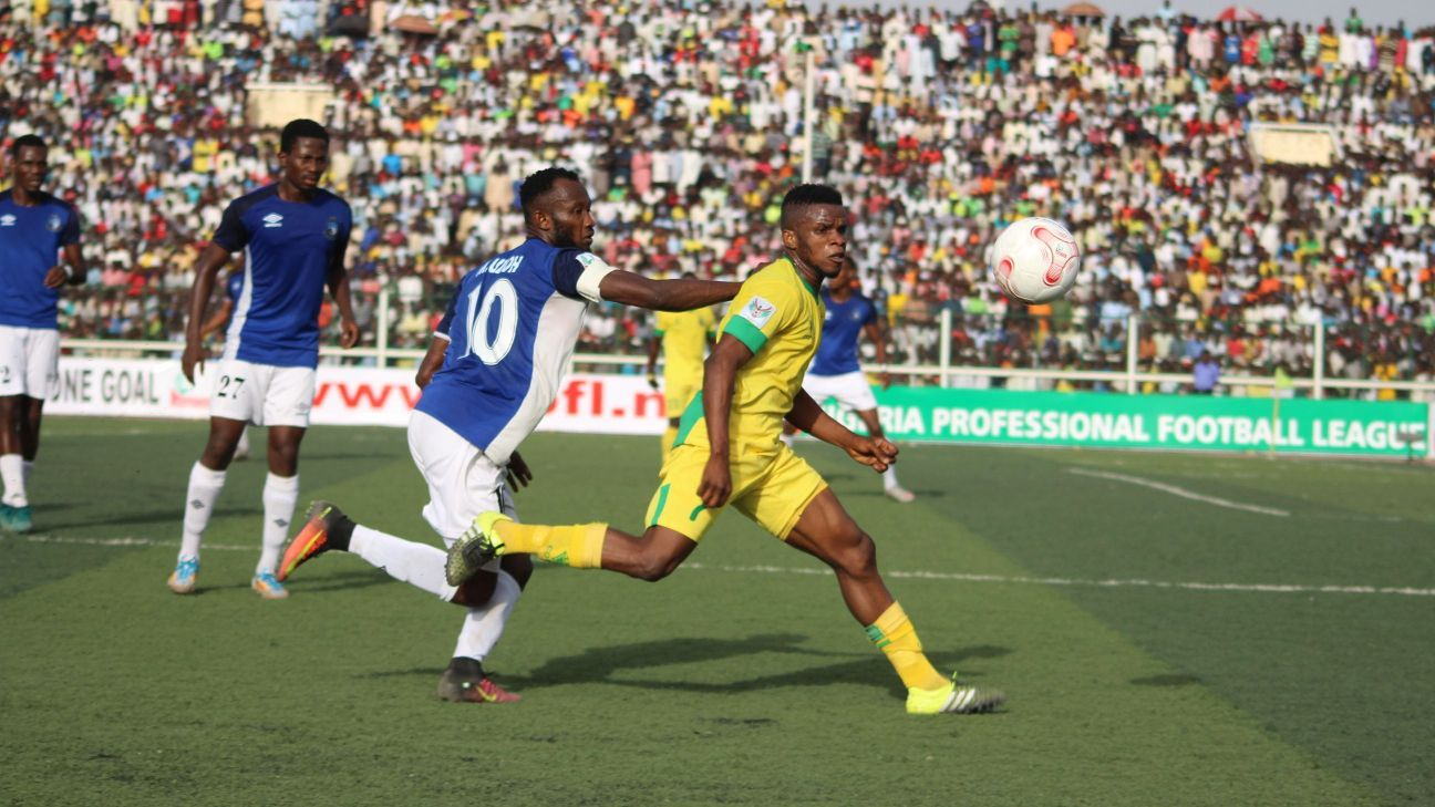 Kano Pillars clash with Enyimba
