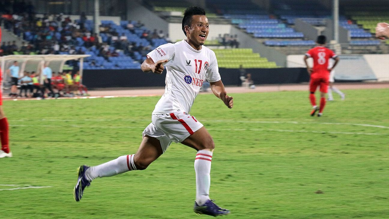 Ralte's goal helped Aizawl record their second away win of the season.