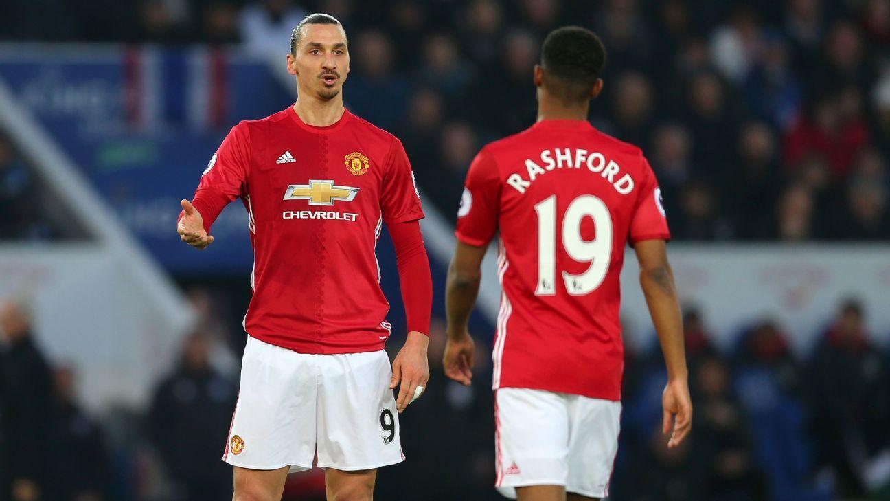 Rashford Ibra Man United