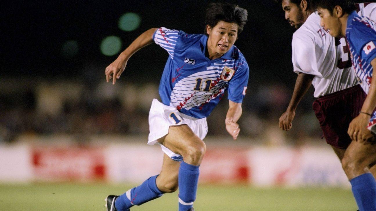 Japan striker Kazuyoshi Miura