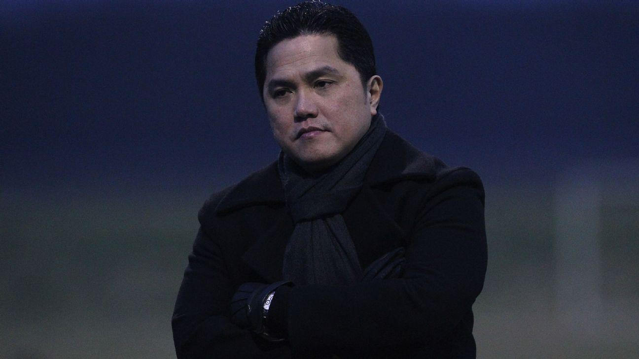 Erick Thohir is selling his D.C. United stake.