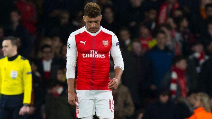 Alex Oxlade-Chamberlain faces an uncertain future at Arsenal.
