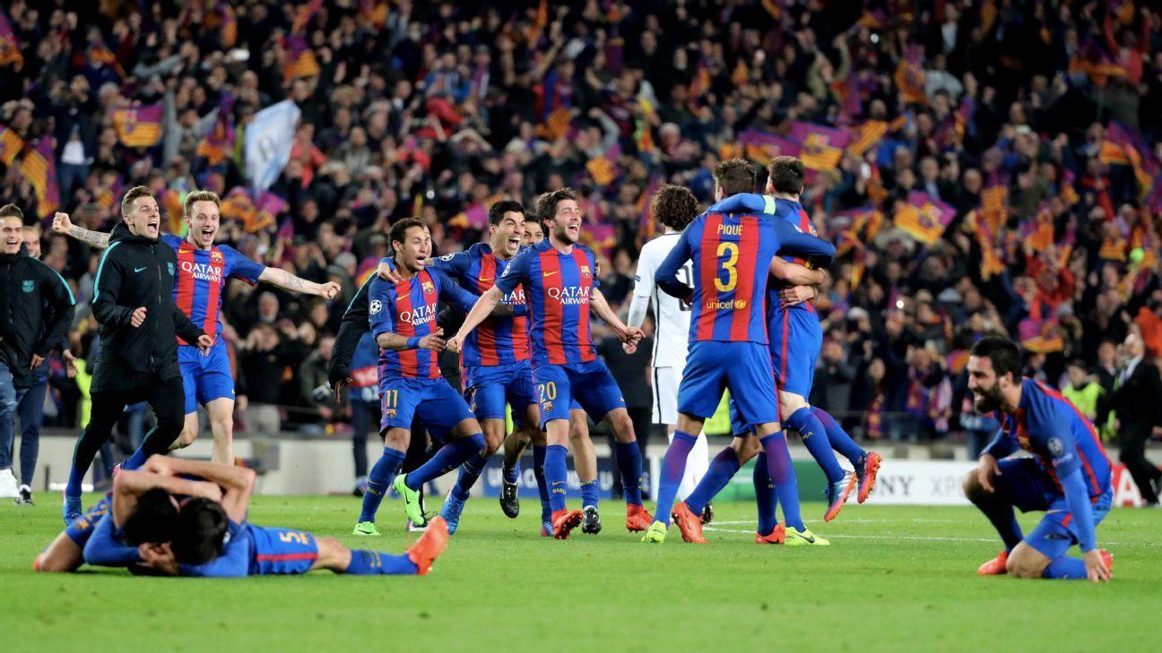 psg vs barcelona champions league