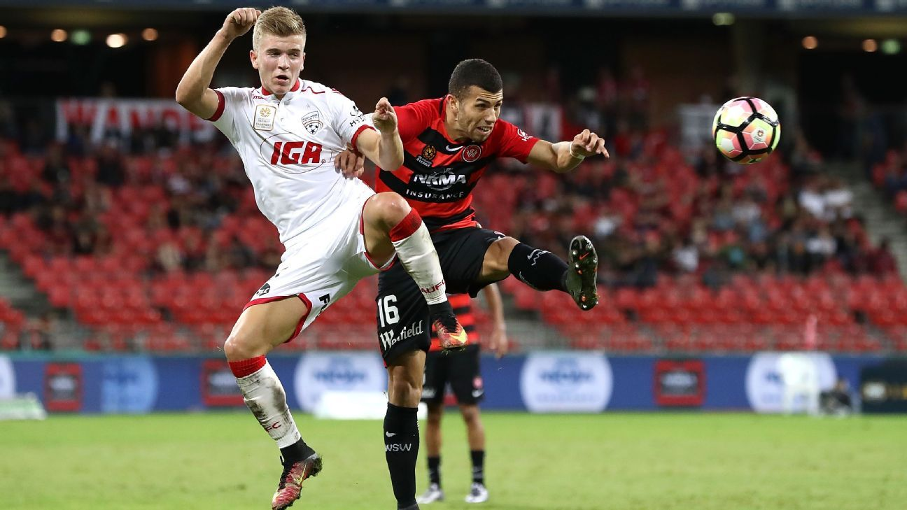 Adelaide United's Riley McGree