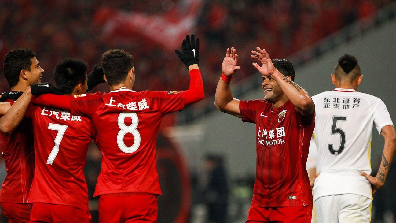 Shanghai SIPG vs. Changchun Yatai