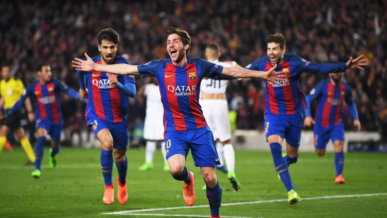 Sergi Roberto's late goal helped lift Barcelona to the next round of the Champions League, but it didn't solve the team's flawed attack.