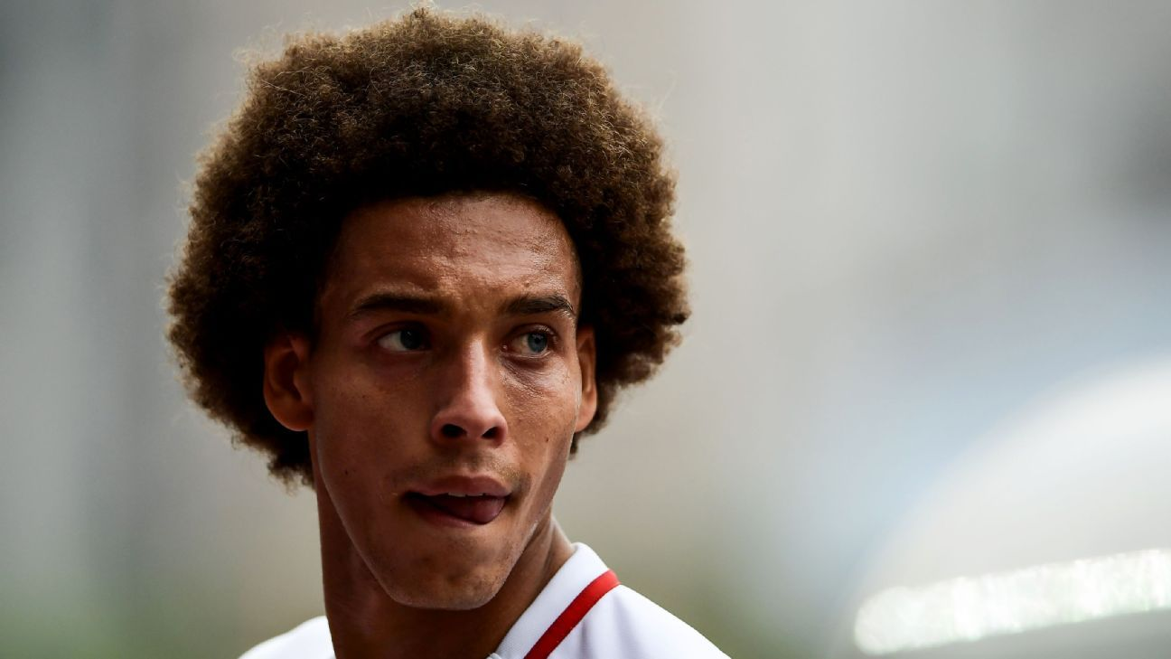 Axel Witsel has been linked with a move to Borussia Dortmund.