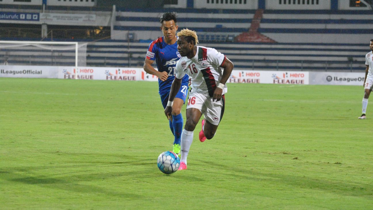 Bagan remain undefeated at the Kanteerava Stadium, having drawn three and won one in their four visits.