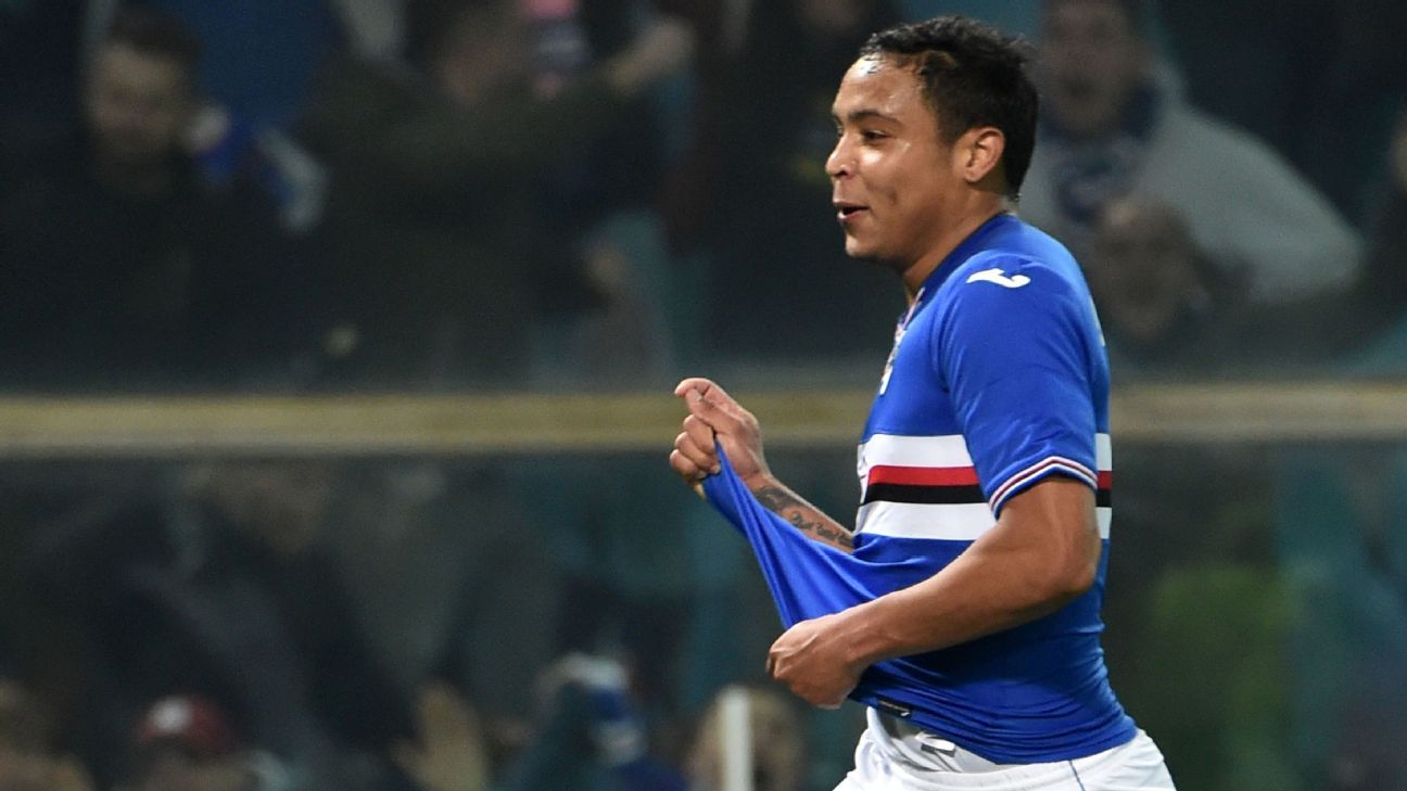 Luis Muriel's goal was enough to give Sampdoria three points.
