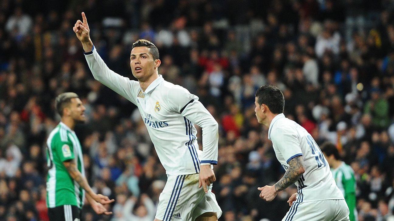 Ronaldo celeb vs Betis