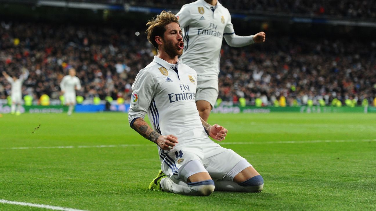 Sergio Ramos Sparks will fly when Real Madrid play Juventus in
