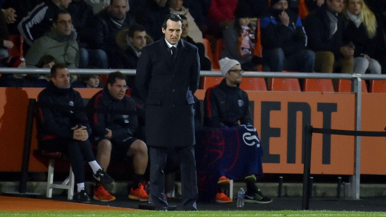 PSG's Unai Emery vs Lorient