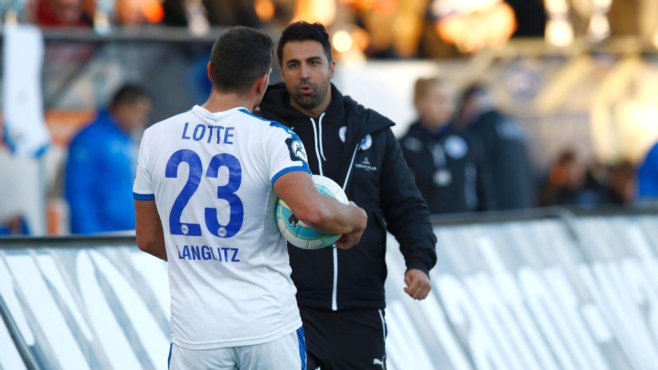 Sportfreunde Lotte head coach Ismail Atalan