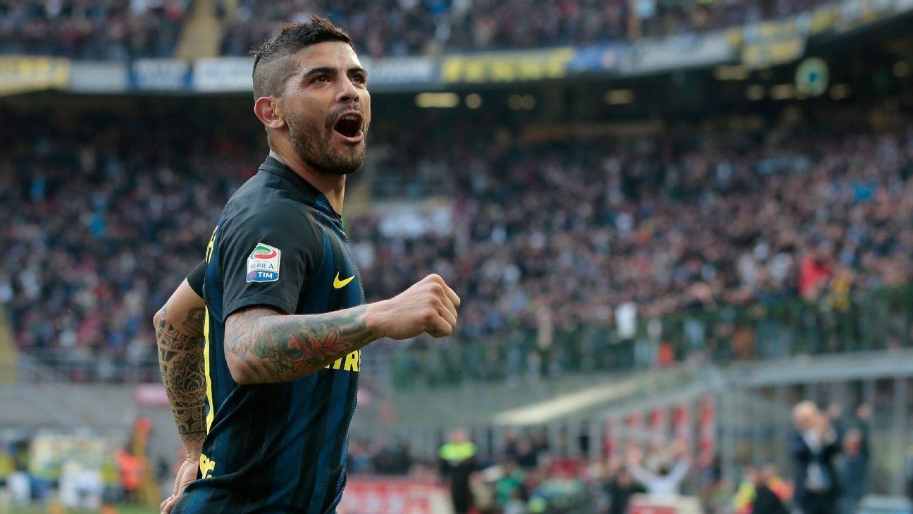Inter Milan s Ever Banega to sign three year deal with Sevilla