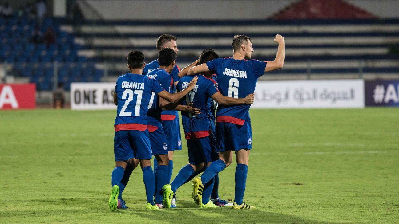 Chhetri's goal helped Bengaluru FC beat Mohun Bagan for the first time at the Kanteerava stadium.