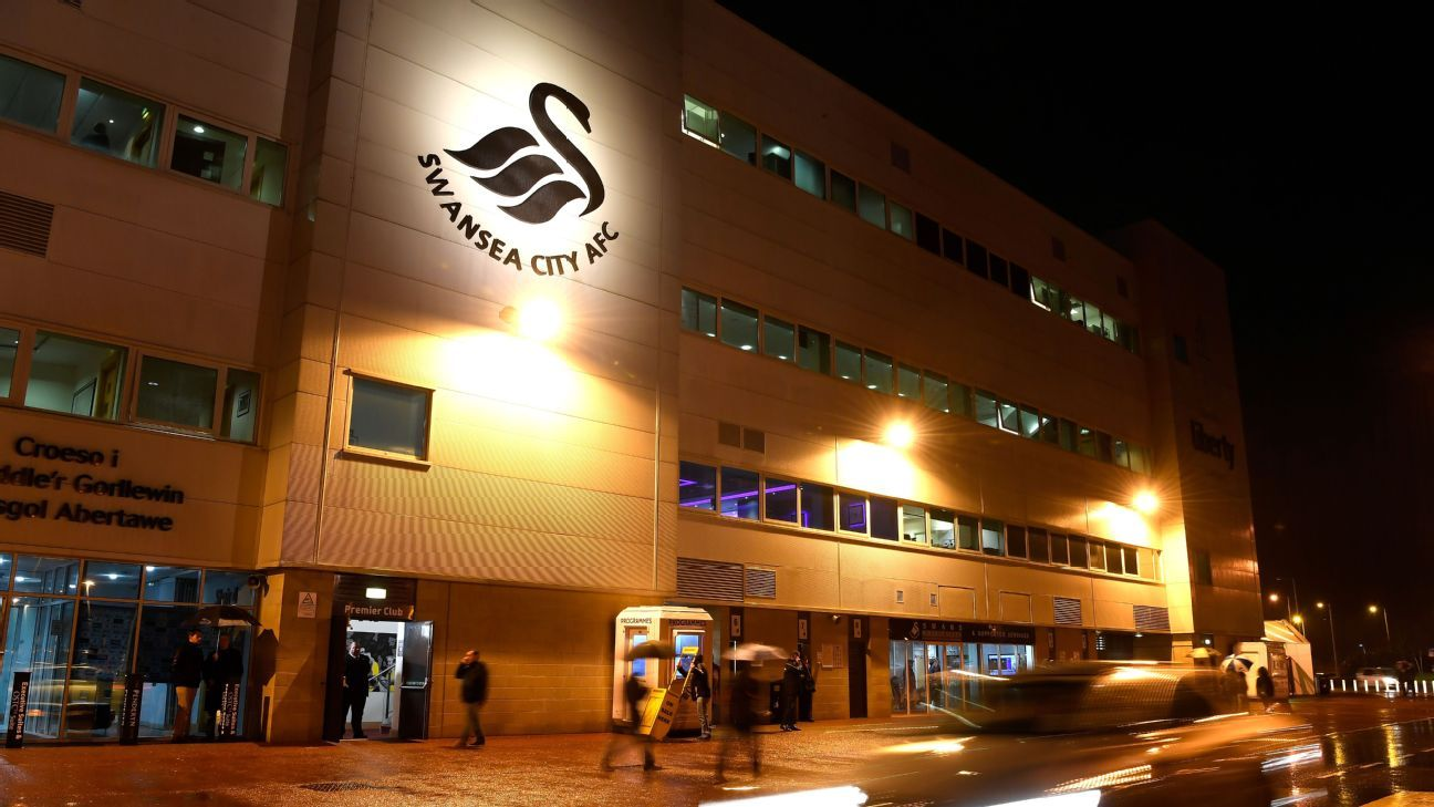 Swansea City's Liberty Stadium.