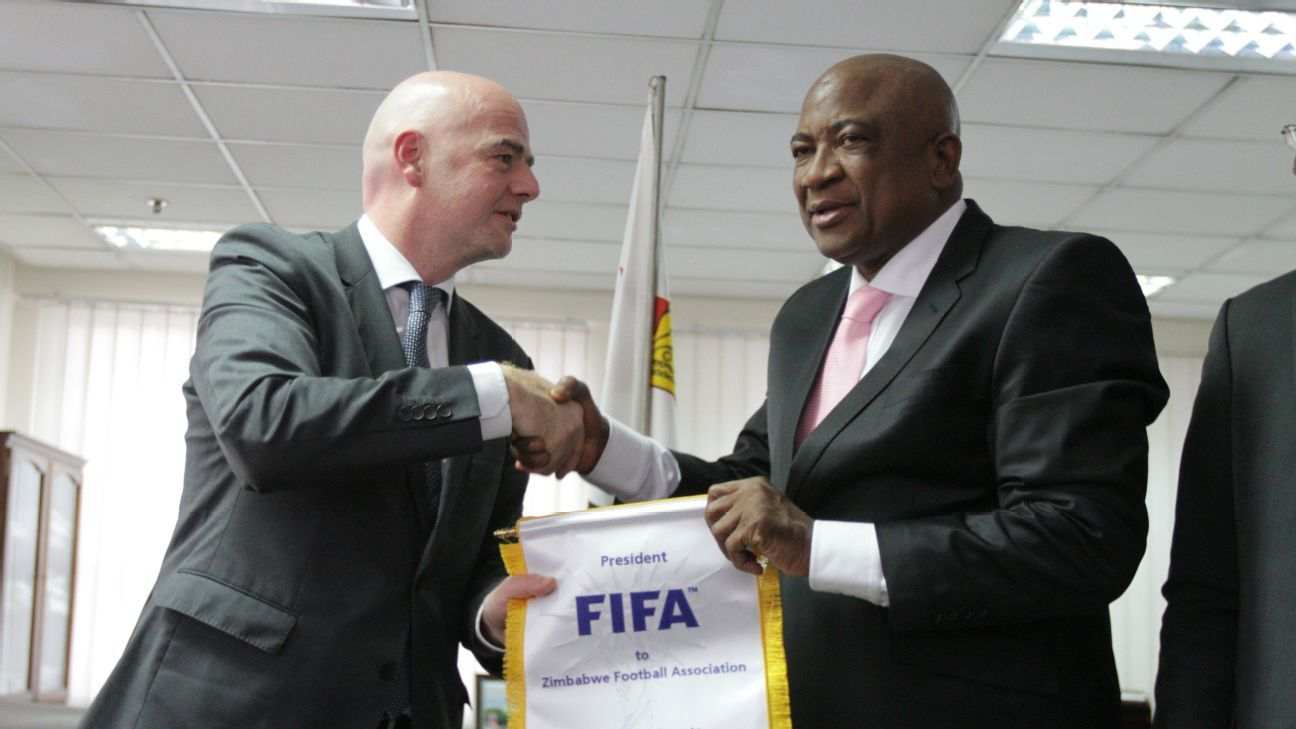 Phillip Chiyangwa Zimbabwe Football Association